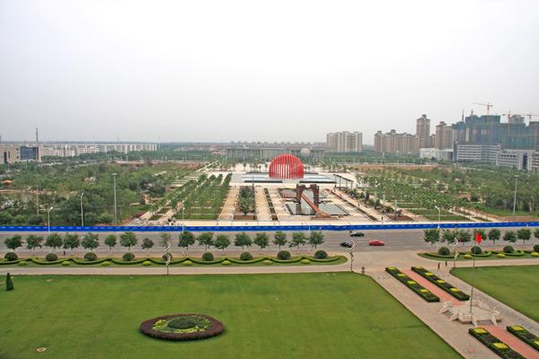 文化公园——武清新城崛起的新地标(图)